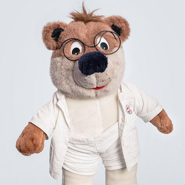 Doktor Bär für unsere kleinen Patienten